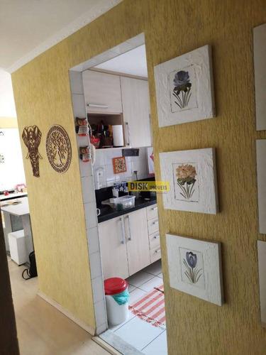 Imagem 1 de 9 de Apartamento Com 2 Dormitórios À Venda, 56 M² Por R$ 215.000,00 - Santa Terezinha - São Bernardo Do Campo/sp - Ap2180