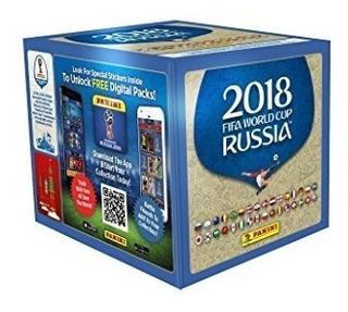 Estampas Mundial Rusia 100 Sobres Panini 2018