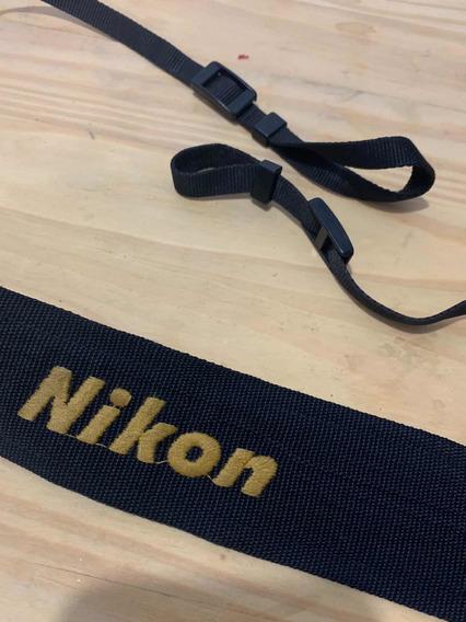 Alça De Pescoço De Ombro Câmera Nikon