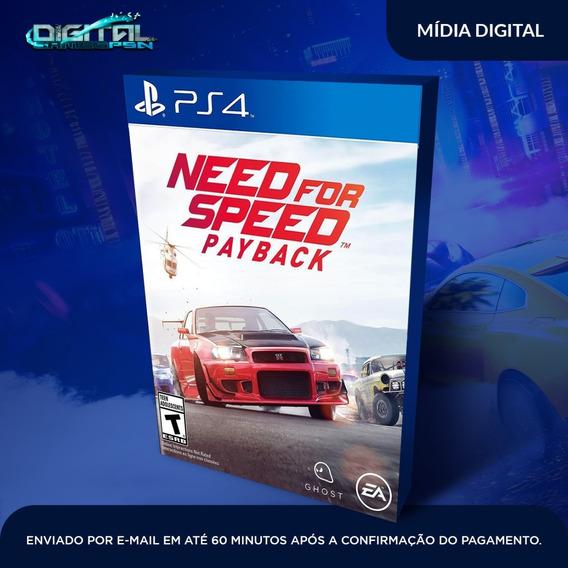 Need For Speed Payback Ps4 Jogo Digital Envio Em 10 Minutos!