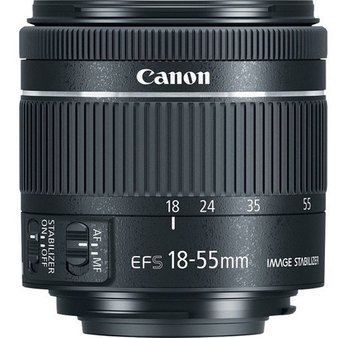 Imagem 1 de 10 de Lente Canon Ef-s 18-55mm F/4-5.6 Is Stm 12x S/juros
