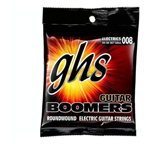 Encordoamento Ghs P/ Guitarra 08 Boomers Set Gbul