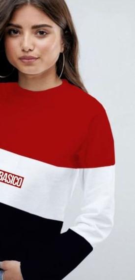 Franelas Long Sleeve Sueter Damas Basico Clothing 2019