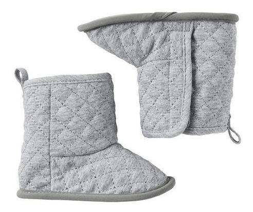 Inverno Pantufa Botinha Pelúcia Bebê Carter