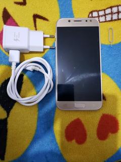 Vendo Samsung Galaxy J5 Pro Dourado 4g 32gb Dual Chip Top.