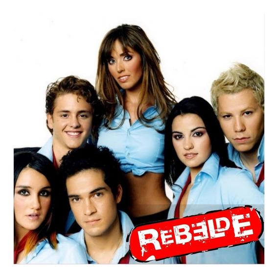 Novela Rebelde Rbd Mx As 3 Temporadas Completas E Dublada