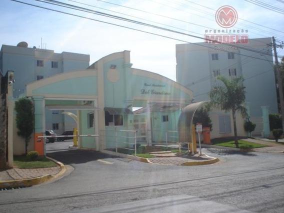 Apartamento Com 2 Dormitórios Para Alugar, 53 M² Por R$ 700,00/mês - Dois Córregos - Piracicaba/sp - Ap0176