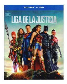 Liga De La Justicia Justice League Dc Pelicula Blu-ray + Dvd