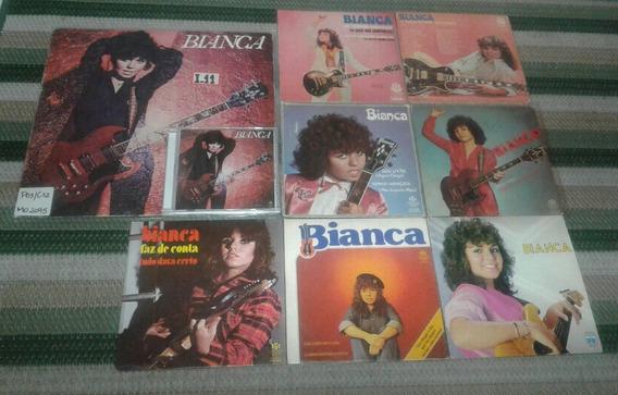 Lp Vinil Bianca 1980 + 7 Compactos + Cd