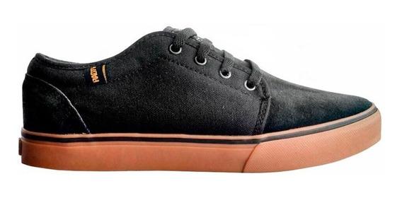 Zapatillas Radioactive Shoes Tora Negro Caramelo