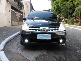 Nissan Grand Livina 1.8 2012 Preto 5 Portas 7 Lugares