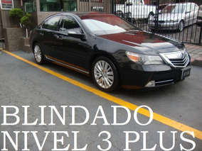 Acura Rl 2011 Blindado Nivel 3 Plus Blindaje Blindada