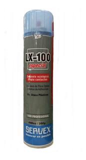 Aerosol Limpia Contactos Solvente Ecologico Lx 100 440cc