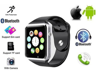 Relógio Smart Inteligente- Celular A1 Bluetooth Chip