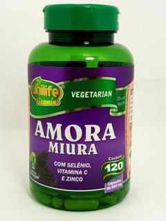 Amora Miura + Vitaminas 120c 500mg Unilife