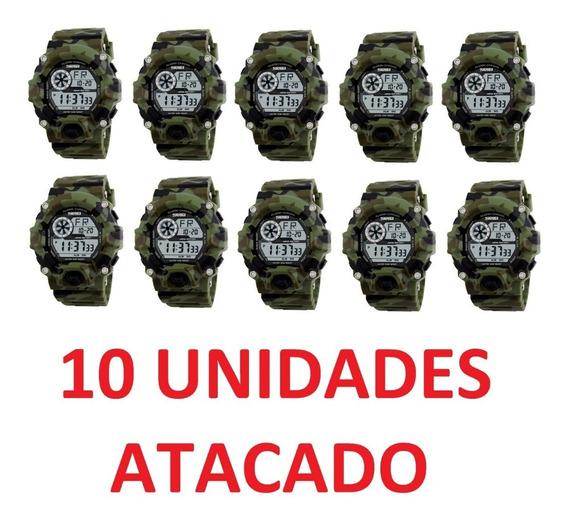 10 Relógio Skmei Atacado Revenda Barato Sport Militar Social