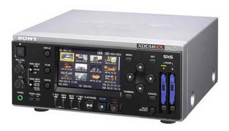 Deck De Gravação Sony Pmw-ex30 Xdcam Ex