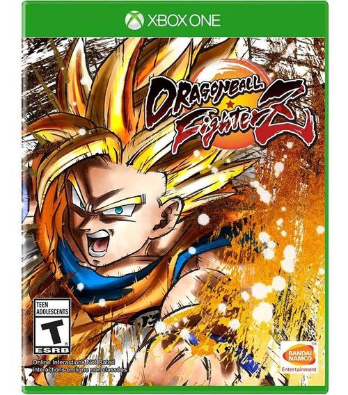 Jogo Dragon Ball Fighterz Xbox One Disco Fisico Novo Barato