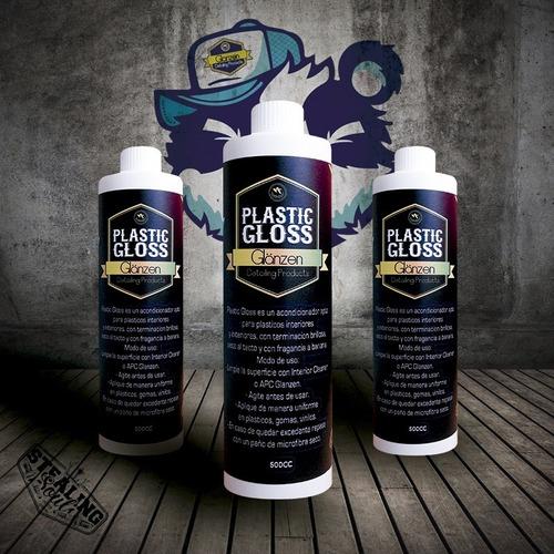 Imagen 1 de 10 de Glänzen Detailing Products   Plastic Gloss   500ml