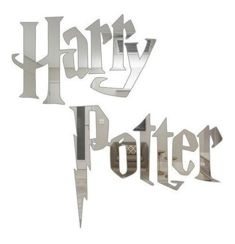 Espelho Harry Potter Decorativo Em Acrílico Promoção!