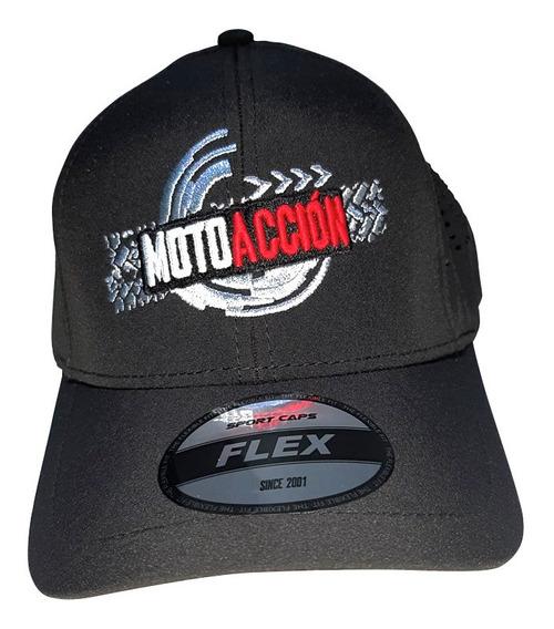 Gorra Moto Accion Negro Ajustable T/única Casual
