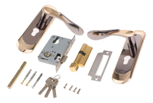 Entry Lever Lock Handle Door Lock Bloqueio Mecânico Para