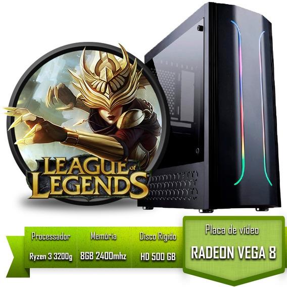 Pc Gamer Para Jogar Lol League Of Legends