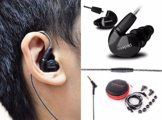 Moxpad X6 Fone In Ear Monitor Palco iPhone Dj Koss Shure Top
