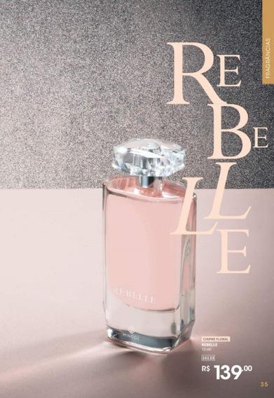 Perfume Rebelle 75 Ml Hinode