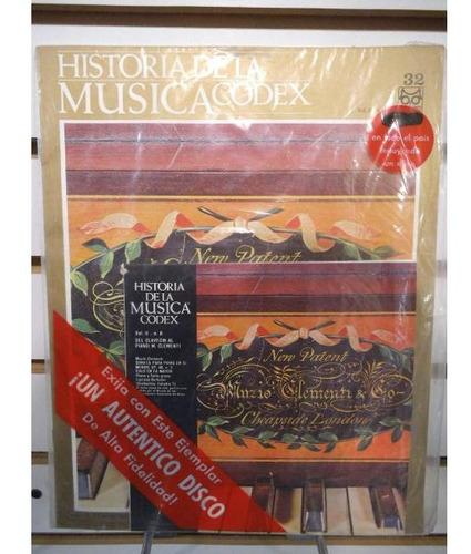 Historia De La Musica Codex 32 Fasiculo Y Disco Lp Acetato