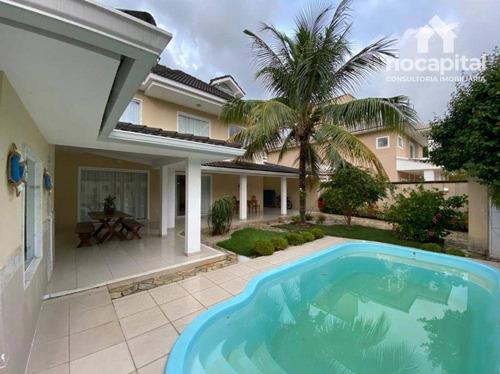 Casa Com 5 Dormitórios À Venda, 480 M² Por R$ 1.480.000,00 - Vargem Grande - Rio De Janeiro/rj - Ca0181
