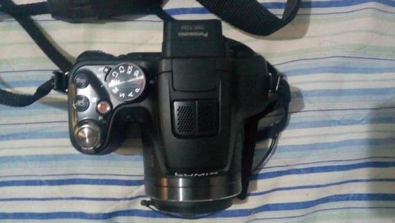 Câmera Fotográfica Semi-profissional Lumix Panasonic Dmc-fz6