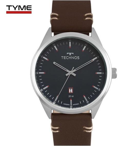 Relógio Technos Masculino Classic Steel 2115msc/0a - C/ Nfe