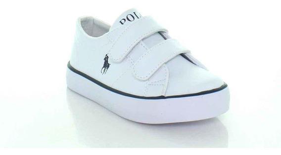 Sneaker Niño, Calzado De Niño, Blanco/azul, Polo,11008f9t