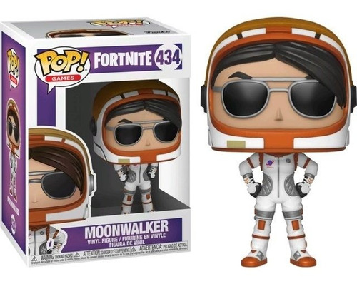 Muñeco Funko Pop Moonwalker Fortnite 434 Orig Norterodados