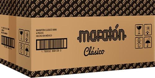 Maratón Clásico (caja Con 6 Piezas)