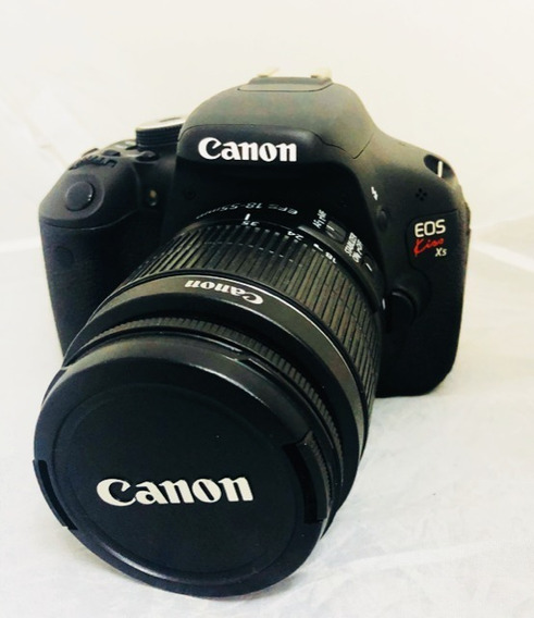 Câmera Canon T3i Seminova Perfeita + Lente 18-55mm