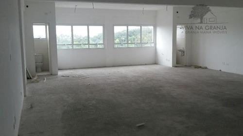 Imagem 1 de 13 de Sala Para Alugar, 100 M² Por R$ 5.000,00/mês - Granja Viana - Carapicuíba/sp - Sa0214