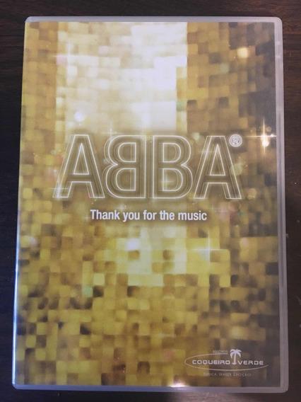 Abba Thank You For The Music Importado Dvd