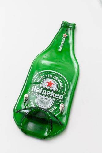 Porta Chaves Heineken Garrafa Original Artesanal