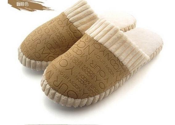 3 Pares Pantuflas Zapatos Suaves Y Calientitas Pijama Unisex