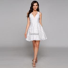 Hermoso Vestido Novia Civil. Talla M.