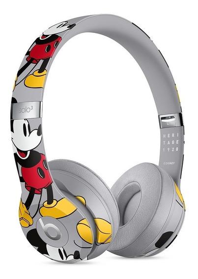 Beats Solo3 Wireless Mickey 90º Aniversário - Novo Lacrado