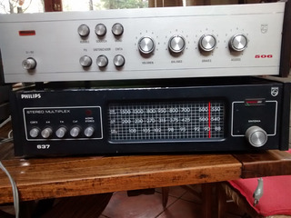 Amplificador Y Sintonizador, Philips Vintage