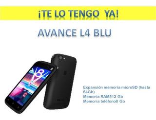 Telefono Android Blu Advance L4 Dual Sim, Liberado