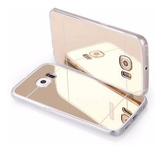 Funda Slim Espejo Samsung S6 J5 S6 Edge Super Slim