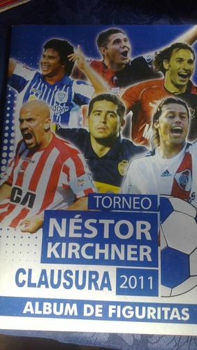 Album Torneo N Kirchner Clausura 2011 Impecable Le Faltan 3