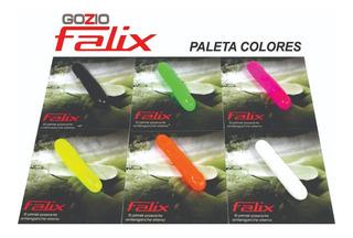 Señuelos Gozio Falix Paseante Antienganche Tararira X 2 U