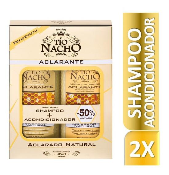 Tio Nacho Set Aclarante Shampoo + Acondicionador 415ml