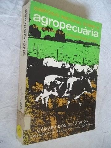 * Livros - Camara Dos Deputados - Agropecuaria - Raro